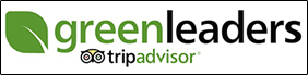Trip Advisor Green Leaders logo for Pinehurst Inn
